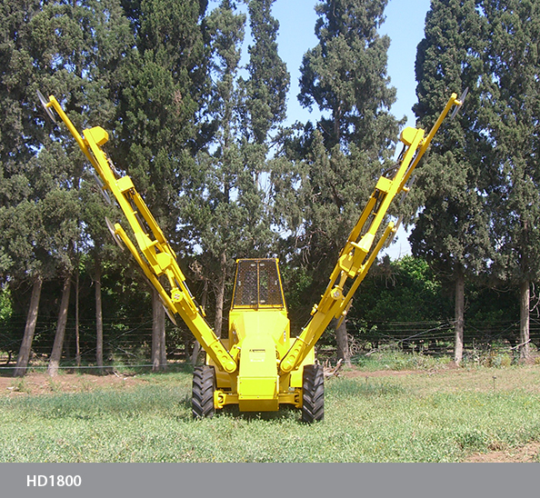 Pruning Machine Dual Boom Hedger HD1800