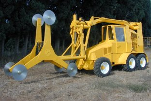 Pruning Machine Dual Boom Topper Hedgers  | Afron